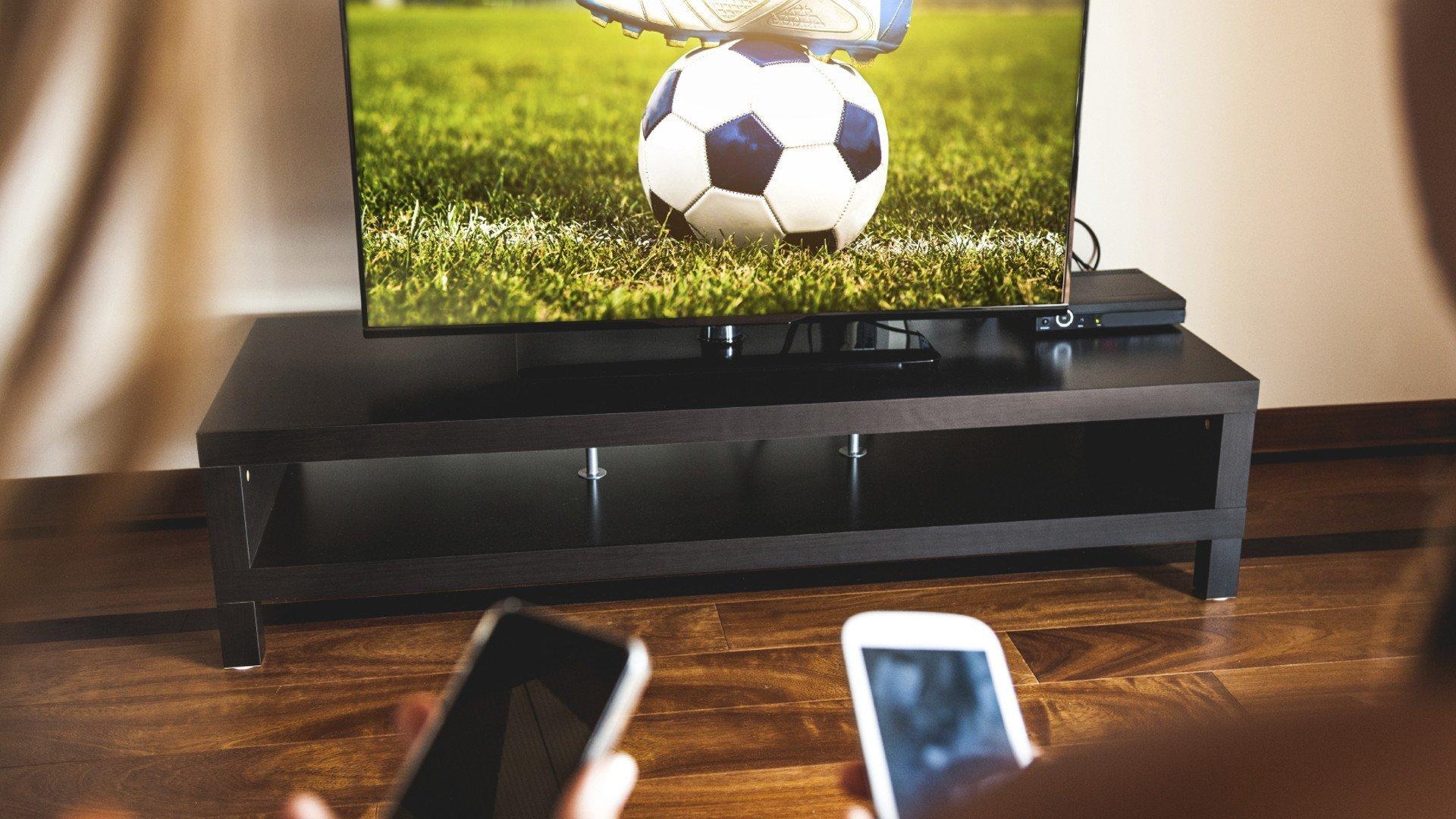SPOT voetbal met 2nd screens