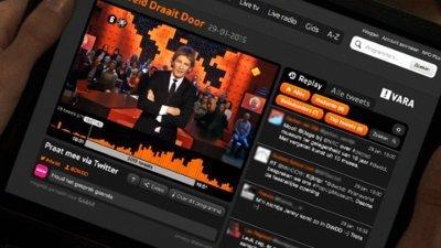 SPOT NPO brengt TV en Twitter bij elkaar in een scherm