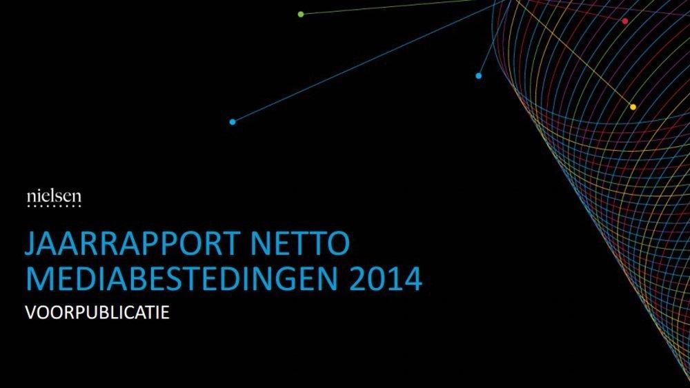 SPOT Nielsen rapporteert groei netto marktaandeel TV 2014
