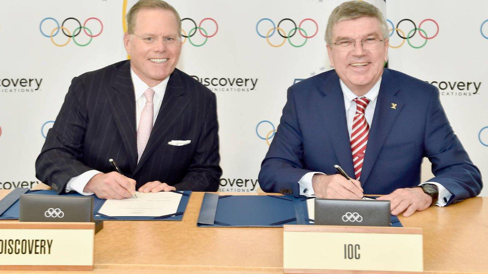 SPOT TV-rechten Olympische Spelen naar Discovery & Eurosport