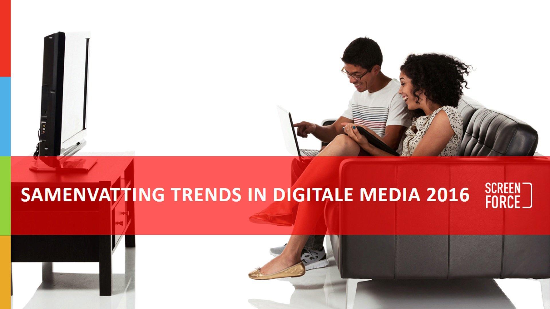 Screenforce Trends in Digitale Media