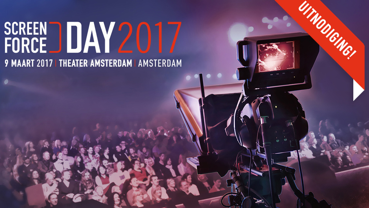 Screenforce Eerste programmaonderdelen Screenforce Day bekend