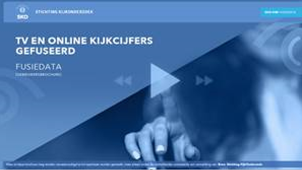 SKO - Gebruikersbijeenkomst TV en online kijkcijfers gefuseerd