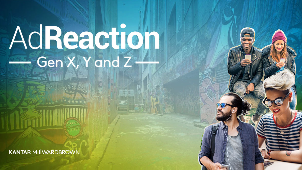 AdReaction - Gen X, Y and Z