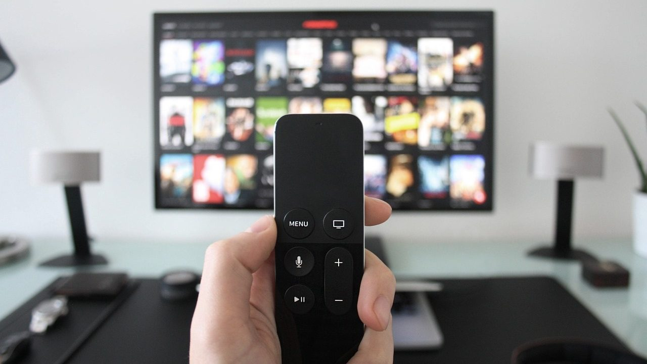 TV-scherm