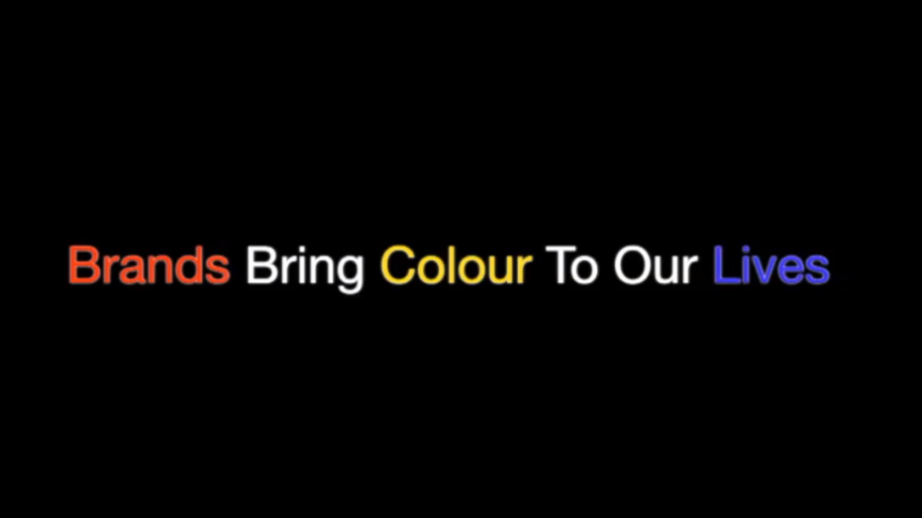 Brands bring colour to our lives (1)