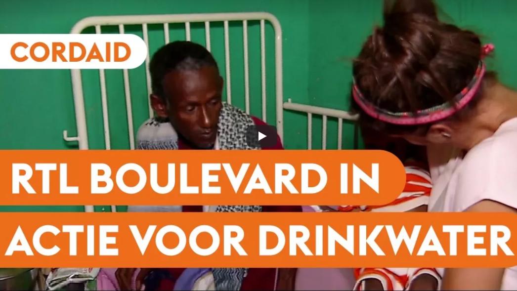 Case RTL en Cordaid in actie voor drinkwater