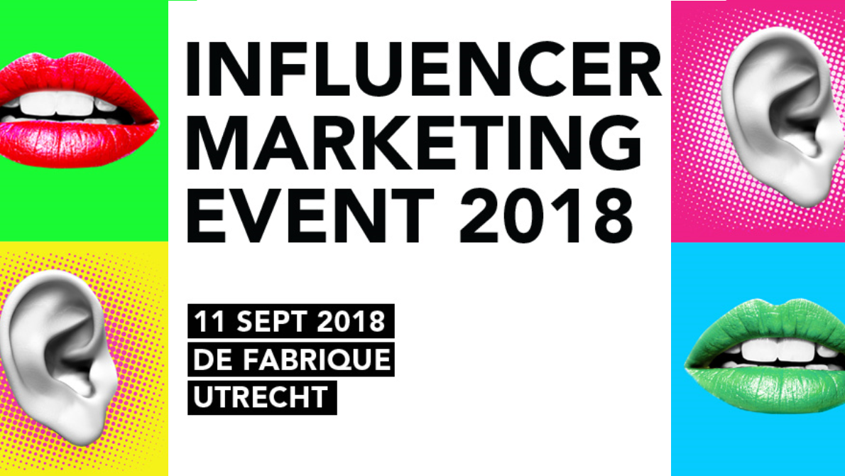 Influencer Marketing Event 2018 - 11 september