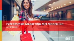 Expertsessie Marketing Mix Modelling - 12 juni 2018 - Website