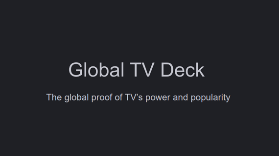 Global TV Deck