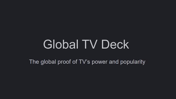 Global TV Deck