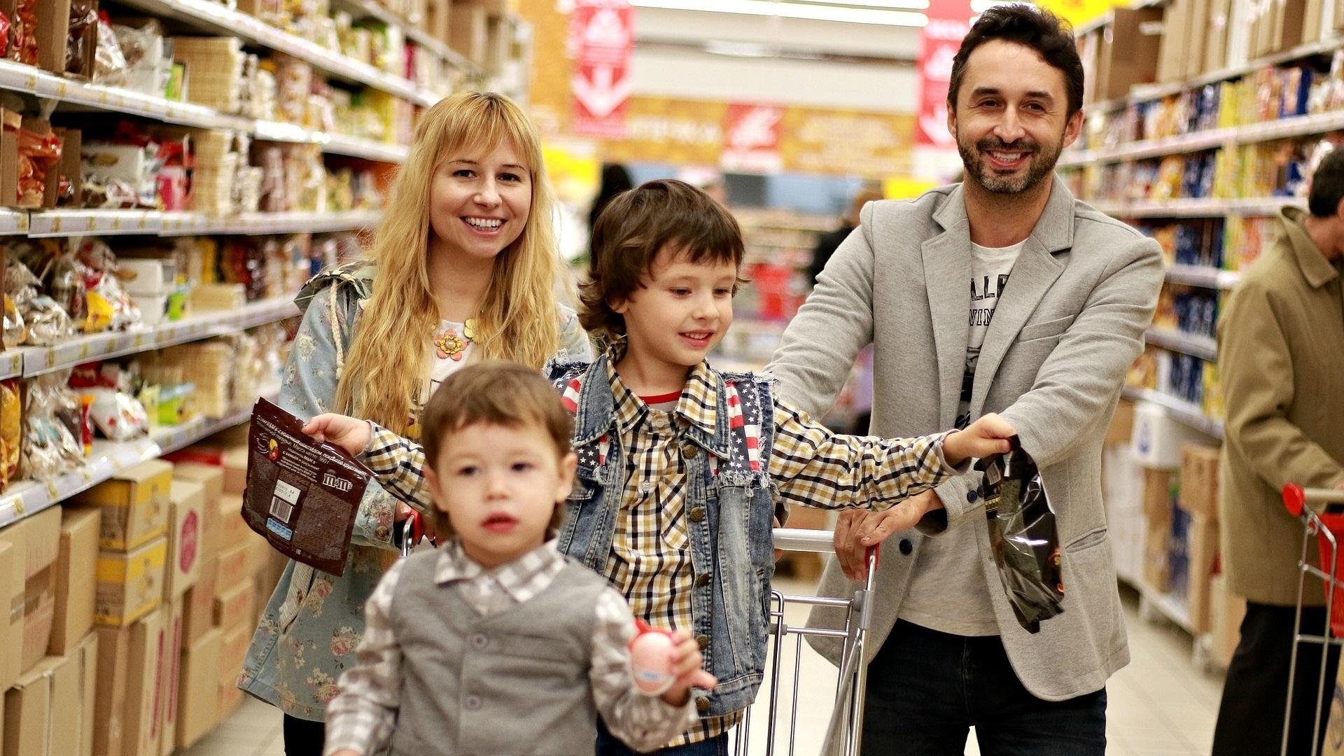 FMCG - kinderen - supermarkt - boodschappen